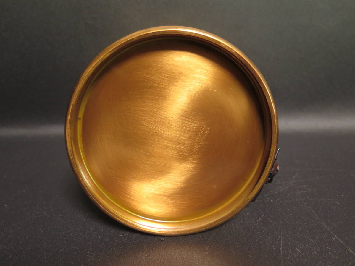 未使用保管品 覇薇可否道 (はらコーヒー) 銅製コーヒードリッパーとポットのセット 革ハンドル 布フィルター付き ポットは直火可能_画像8