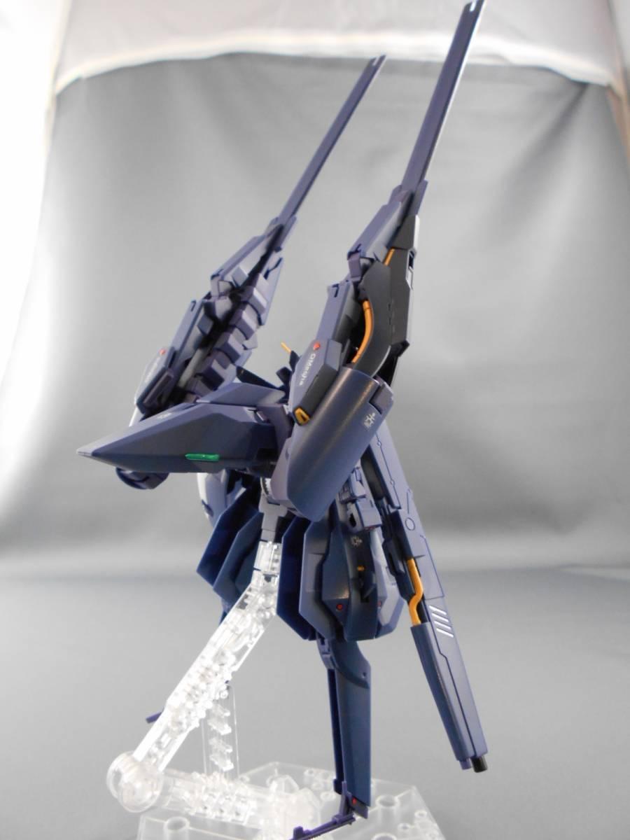 プレバン限定 HG 1/144 ガンダムTR-6[ヘイズルⅡ] 塗装済み完成品・成形色フィニッシュ 即決_画像4