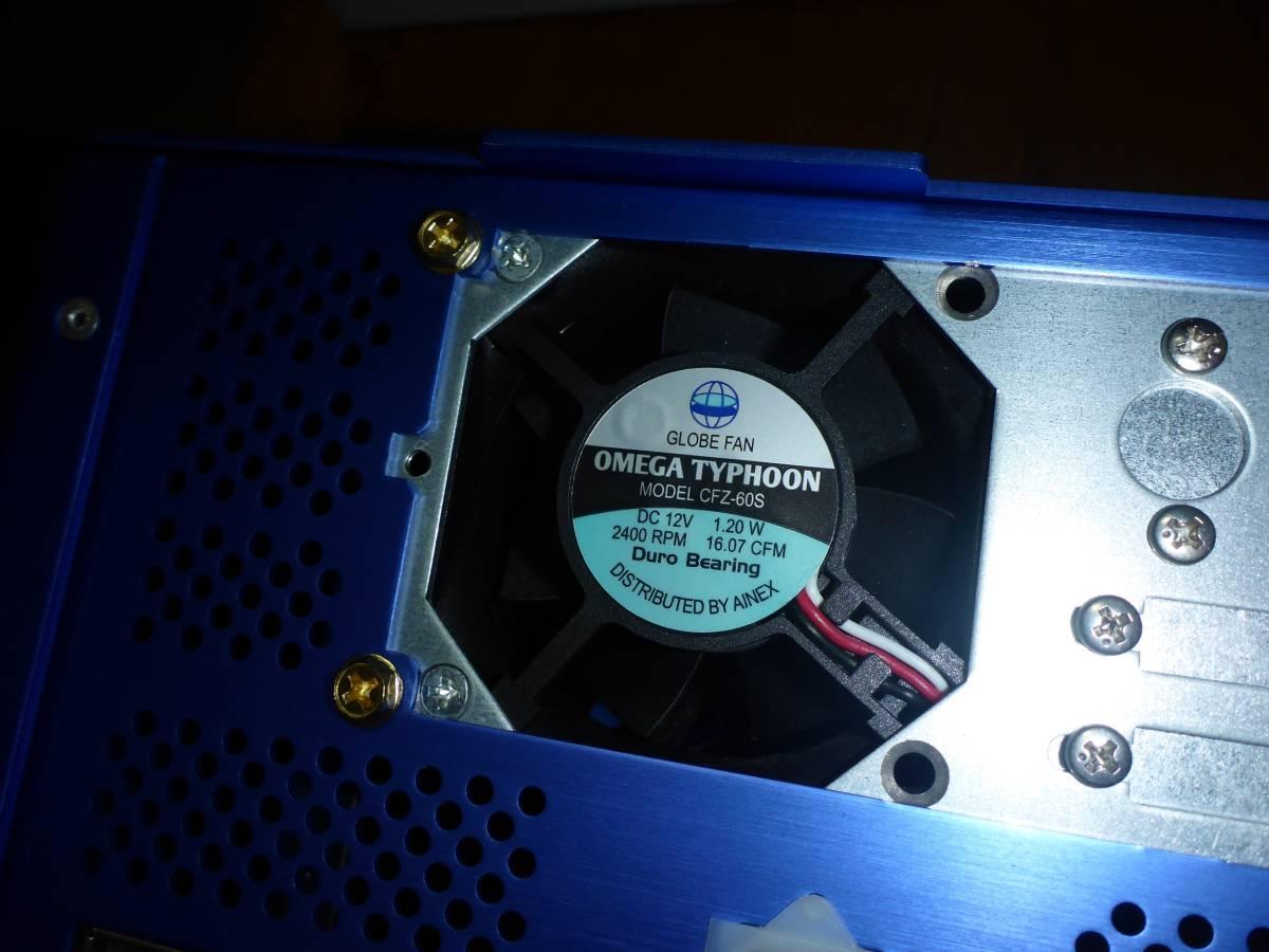 中古PC M/B ASUS H81T CPU Pentium G3258 LIAN LI アルミケース付 ACアダプター 130W 動作確認 Thin mini ITX Antec Spot Cool_画像8