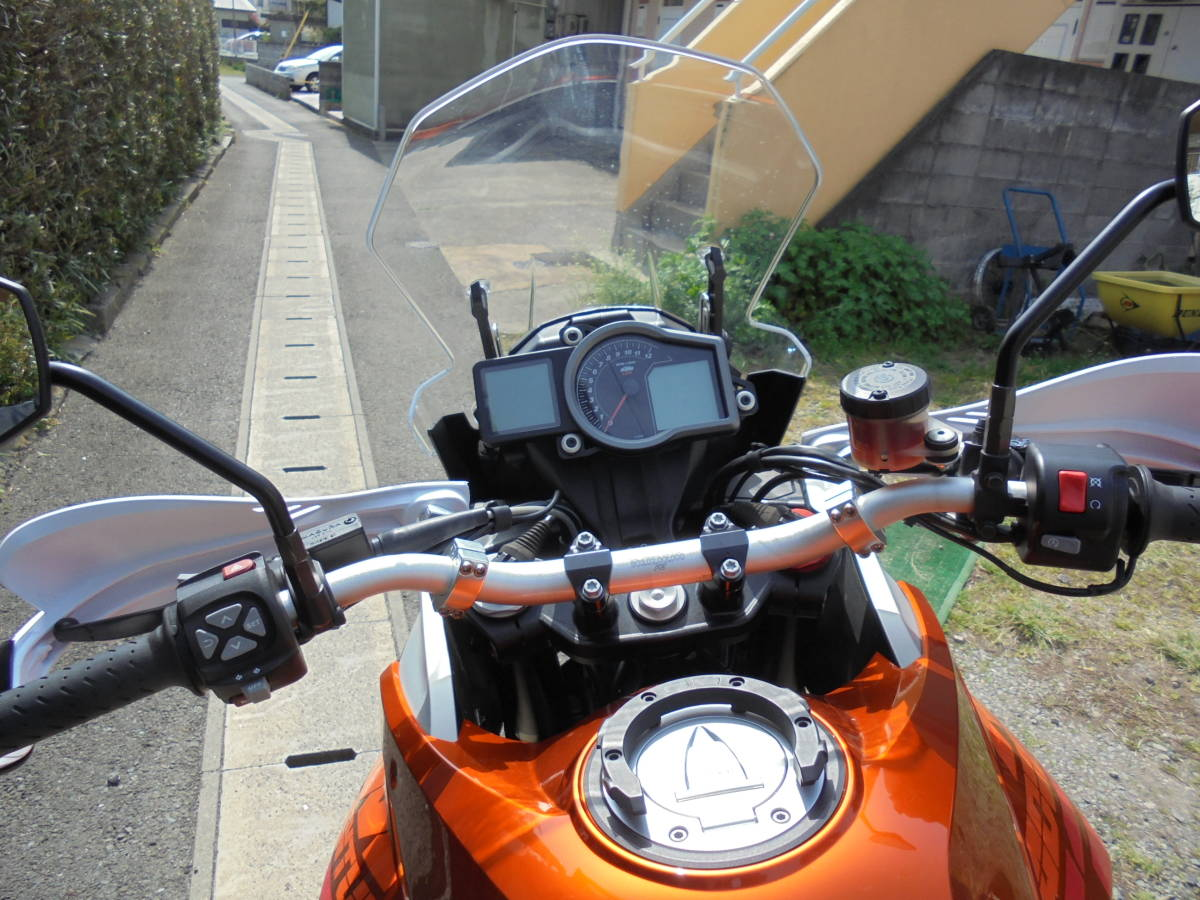 KTM,1190アドベンチャー、低走行、パニアケース付き_画像8