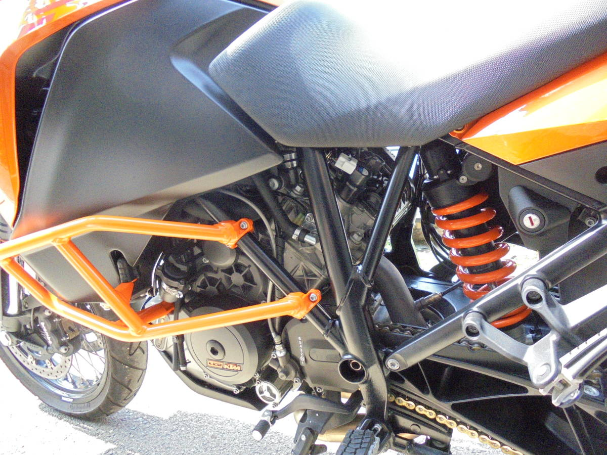 KTM,1190アドベンチャー、低走行、パニアケース付き_画像9