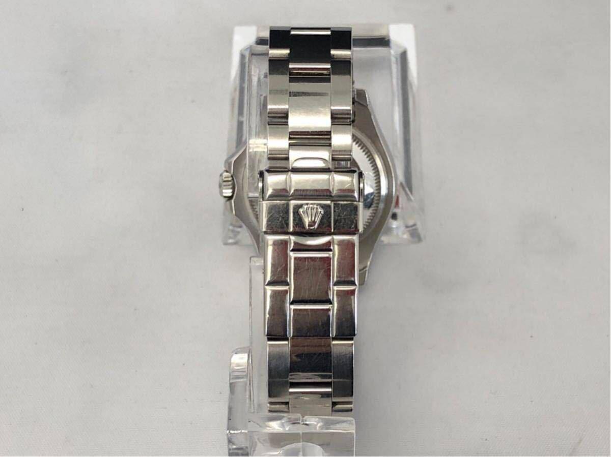 【 1円 】★ 美品 ★ ROLEX ヨットマスター 腕時計 自動巻 稼働品 169622 ロレジウム ロレックス 中古_画像5