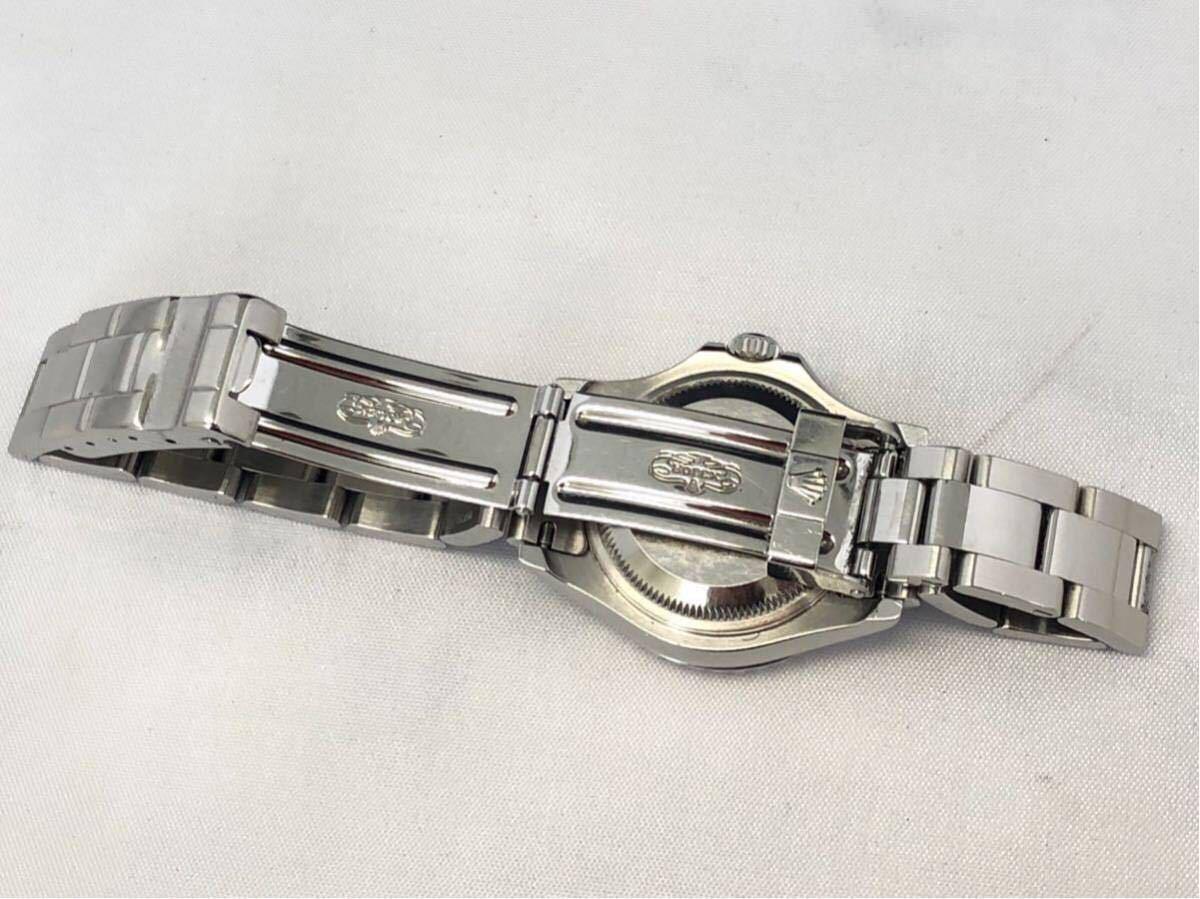 【 1円 】★ 美品 ★ ROLEX ヨットマスター 腕時計 自動巻 稼働品 169622 ロレジウム ロレックス 中古_画像6
