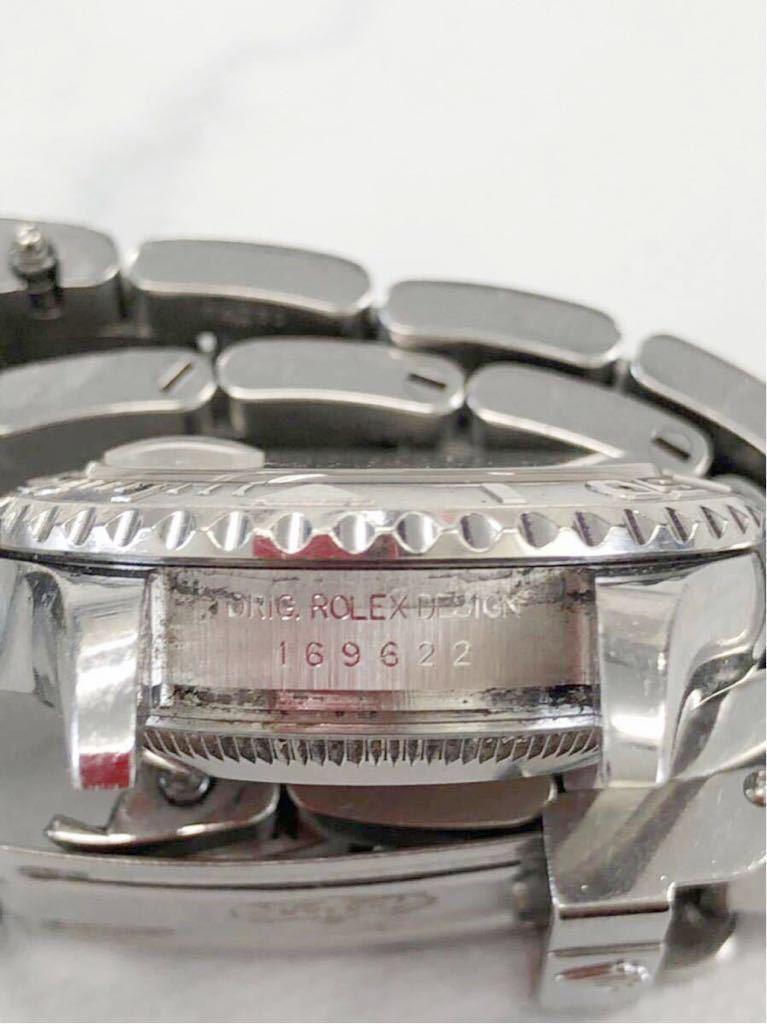 【 1円 】★ 美品 ★ ROLEX ヨットマスター 腕時計 自動巻 稼働品 169622 ロレジウム ロレックス 中古_画像9