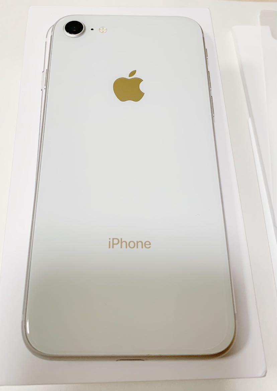 iPhone8 64GB docomo Silver本体_画像4