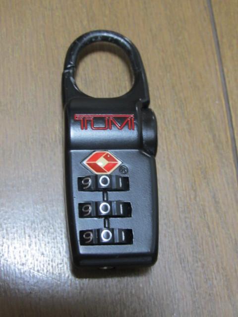 TUMI チュミ TSAロック 鍵 中古