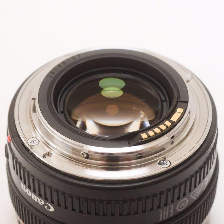 Sランク 美品! Canon キャノン EF 50mm F1.4 KS04_画像4
