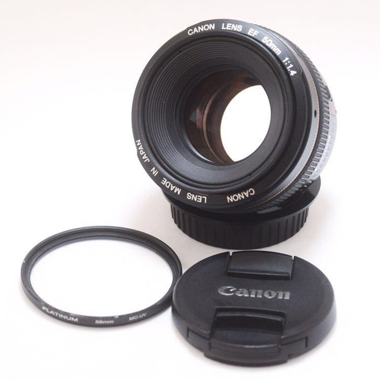 Sランク 美品! Canon キャノン EF 50mm F1.4 KS04