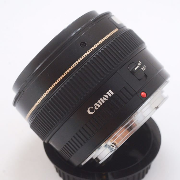 Sランク 美品! Canon キャノン EF 50mm F1.4 KS04_画像6