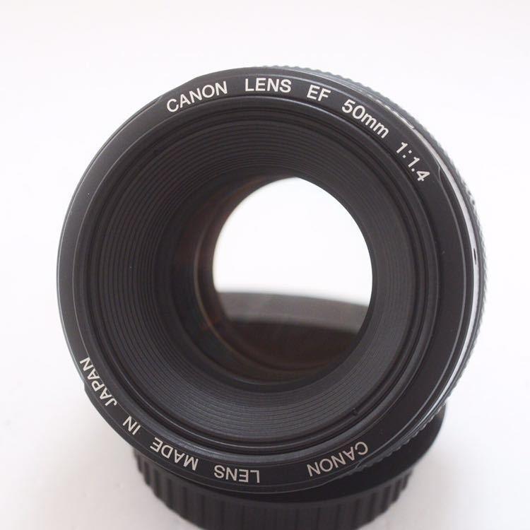 Sランク 美品! Canon キャノン EF 50mm F1.4 KS04_画像2