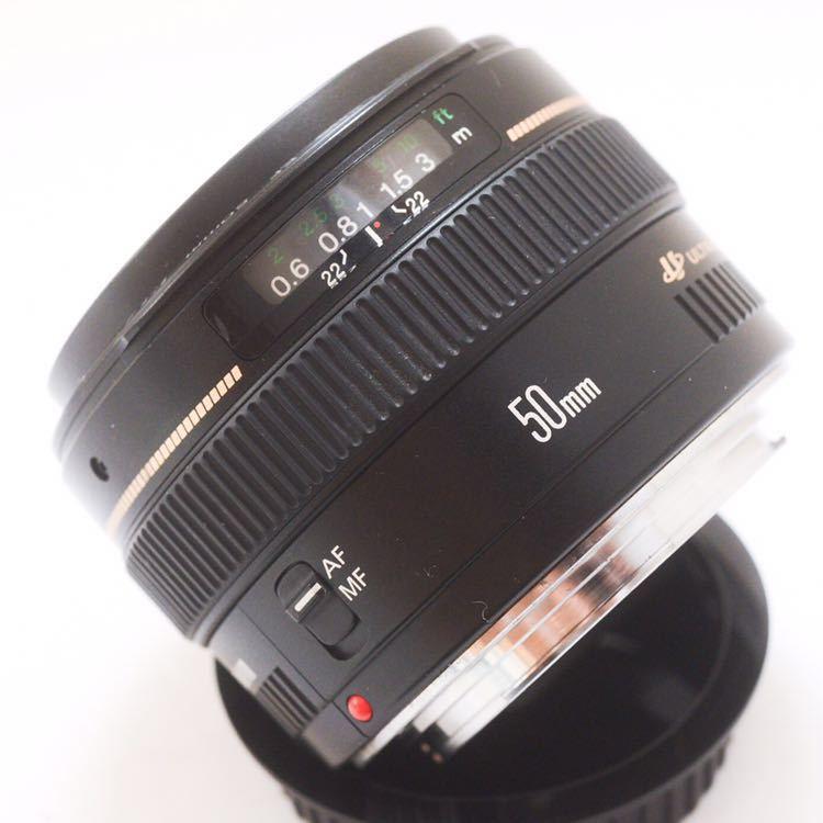 Sランク 美品! Canon キャノン EF 50mm F1.4 KS04_画像5