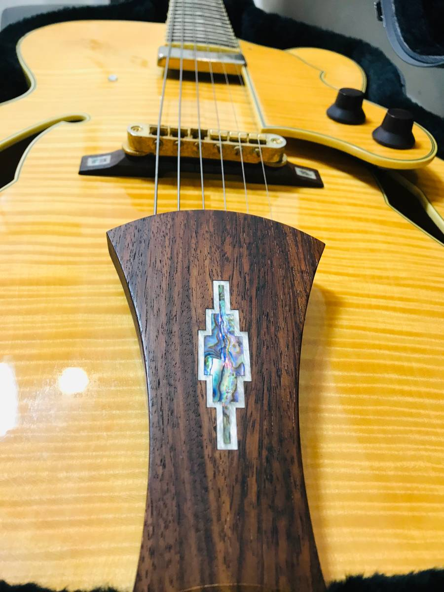 【sk063p54】■Ibanez アイバニーズ フルアコ AF105F-NT-12-01・美品 ギター_画像7
