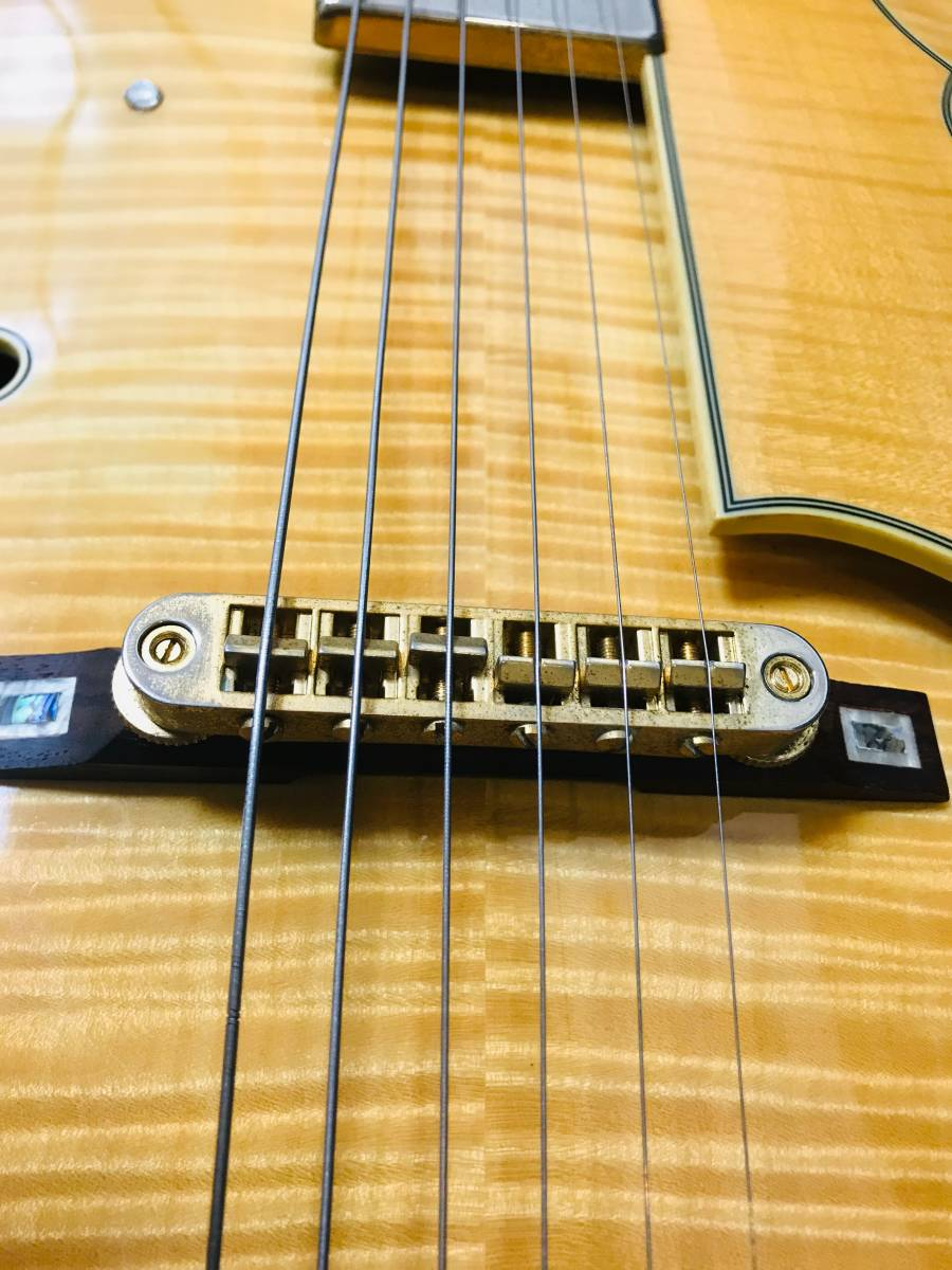 【sk063p54】■Ibanez アイバニーズ フルアコ AF105F-NT-12-01・美品 ギター_画像6