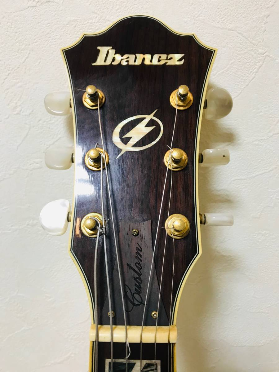 【sk063p54】■Ibanez アイバニーズ フルアコ AF105F-NT-12-01・美品 ギター_画像4
