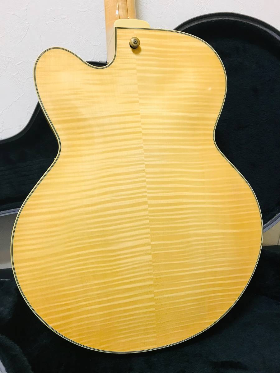 【sk063p54】■Ibanez アイバニーズ フルアコ AF105F-NT-12-01・美品 ギター_画像3