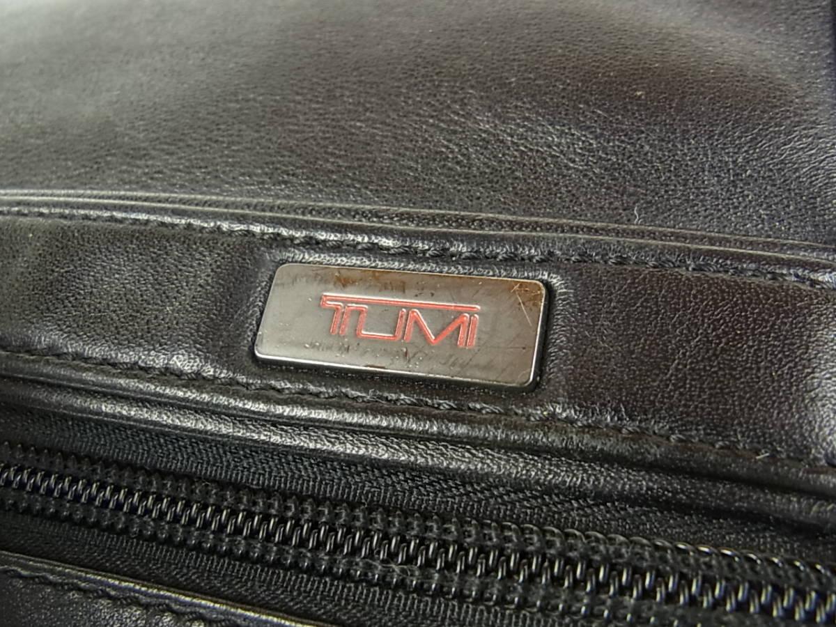 1円 トゥミ メンズ オール レザー PC A4収納可能 多収納 96071D4 2層式 2WAY ブリーフケース 書類鞄 ショルダー ビジネス ハンドバッグ_画像5