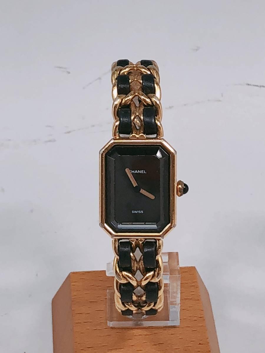 700fd40080fb 代購代標第一品牌- 樂淘letao - 電池交換済み♪CHANEL♪シャネル♪時計♪腕時計♪プルミエール♪Premire♪ゴールド♪チェーン ベルト♪ジュエリーウォッチ♪100円 ...