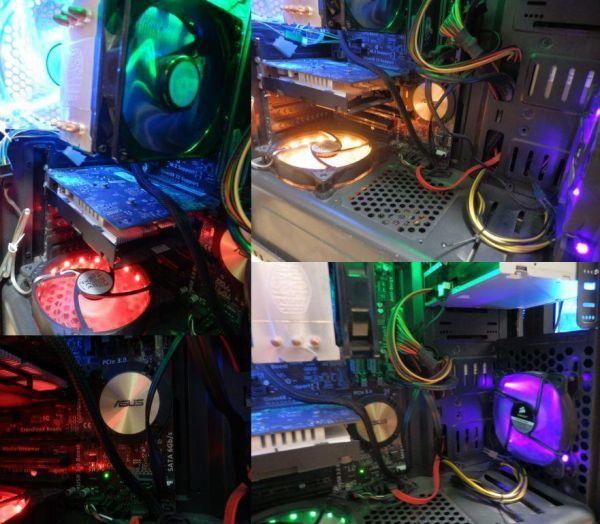 自作ゲーミングPC i5-4460 GTX750Ti SSD250GB メモリ8GB HDD1TB 500w win10 Pro 64bit ASUS H97-PLUS DVD_画像8
