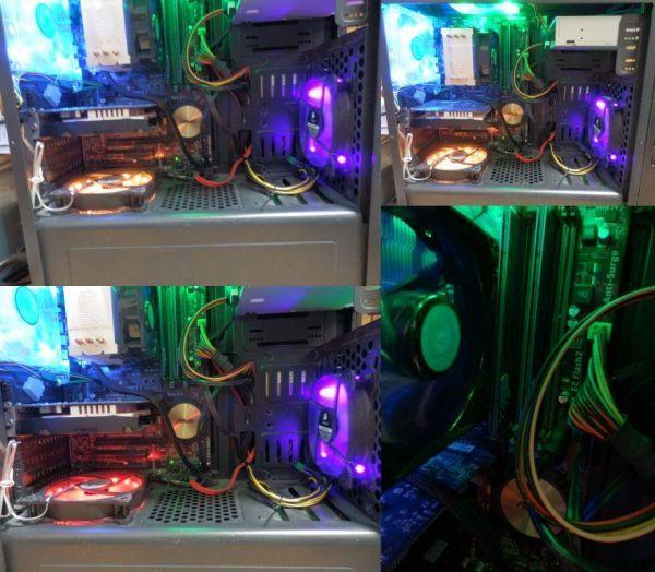 自作ゲーミングPC i5-4460 GTX750Ti SSD250GB メモリ8GB HDD1TB 500w win10 Pro 64bit ASUS H97-PLUS DVD_画像7