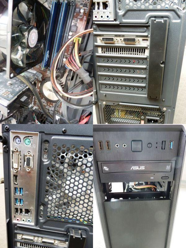 自作ゲーミングPC i5-4460 GTX750Ti SSD250GB メモリ8GB HDD1TB 500w win10 Pro 64bit ASUS H97-PLUS DVD_画像5