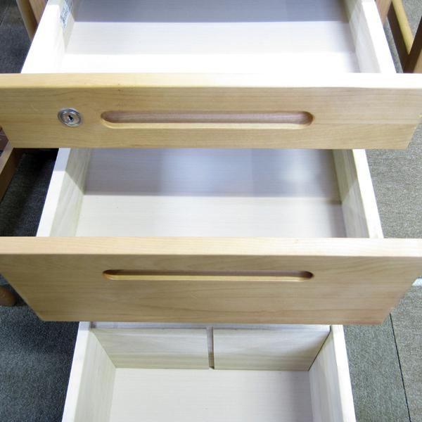 展示品 イトーキ 学習机 イス、ワゴン付き CAG型 勉強机_画像6