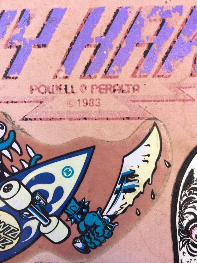 1983's POWELL PERALTA TONY HAWK VINTAGE SKATEBOARD トニーホーク ビンテージ スケートボード パウエル ペラルタ スケボー ロングボード_画像5