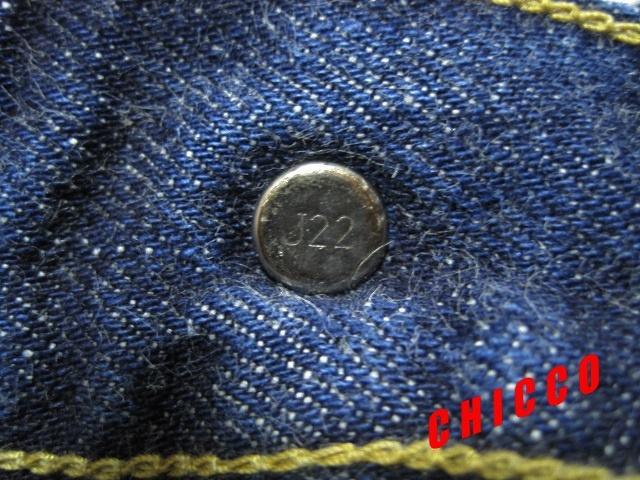 即決★美品★LEVI'S 503BXX W29 濃紺★日本製 リーバイス ビンテージ復刻 赤耳 BIGE ビッグE メンズ 72cm 稀少 廃盤 限定 デニムパンツ_画像10