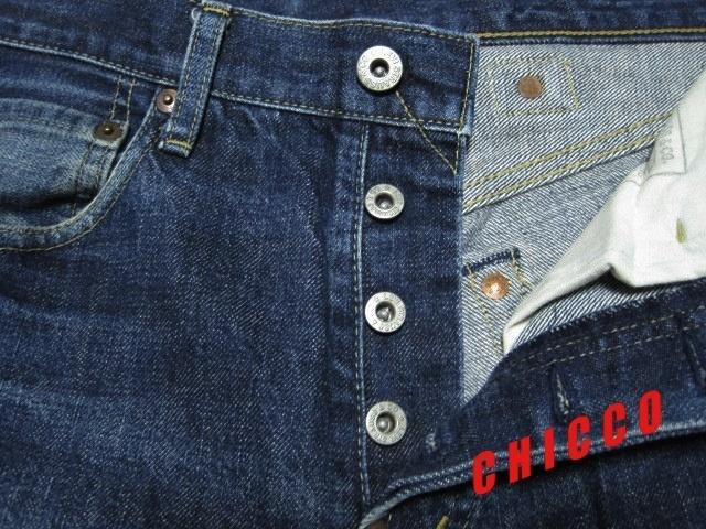 即決★LEVI'S 702XX メンズ W29★日本製 リーバイス ビンテージ復刻 赤耳 BIGE ビッグE ストレート シンチバックベルト 稀少 廃盤 限定_画像5