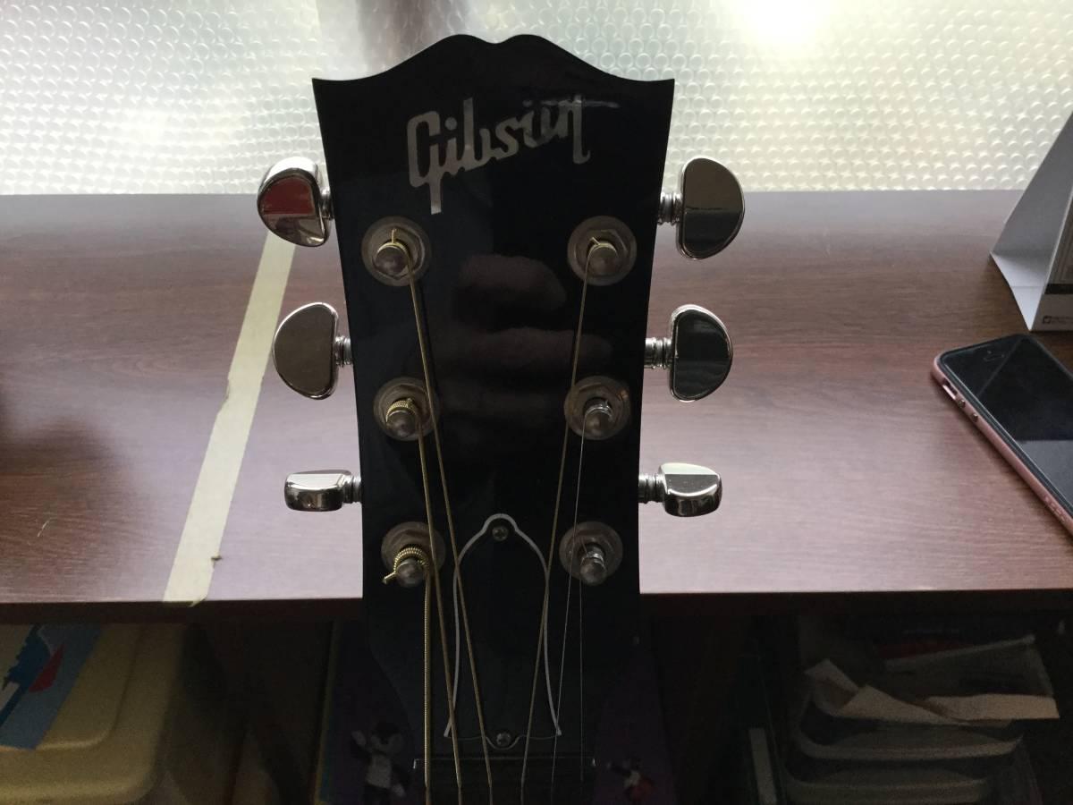 ギブソン GIBSON J45 PU内蔵、激鳴り 2016年 即決_画像3