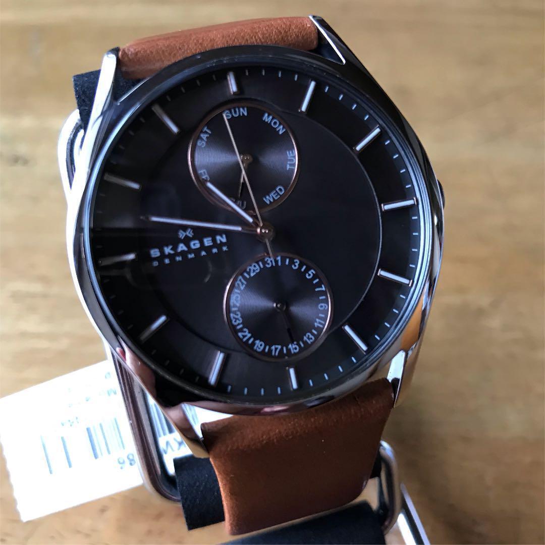 【新品】スカーゲン SKAGEN クオーツ メンズ 腕時計 SKW6086 グレー_画像1