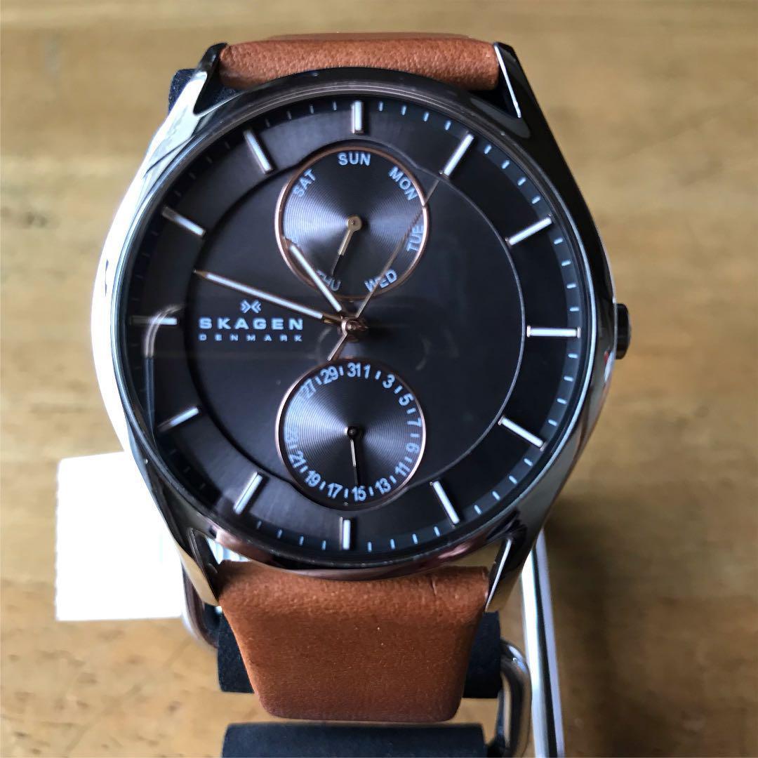 【新品】スカーゲン SKAGEN クオーツ メンズ 腕時計 SKW6086 グレー_画像2