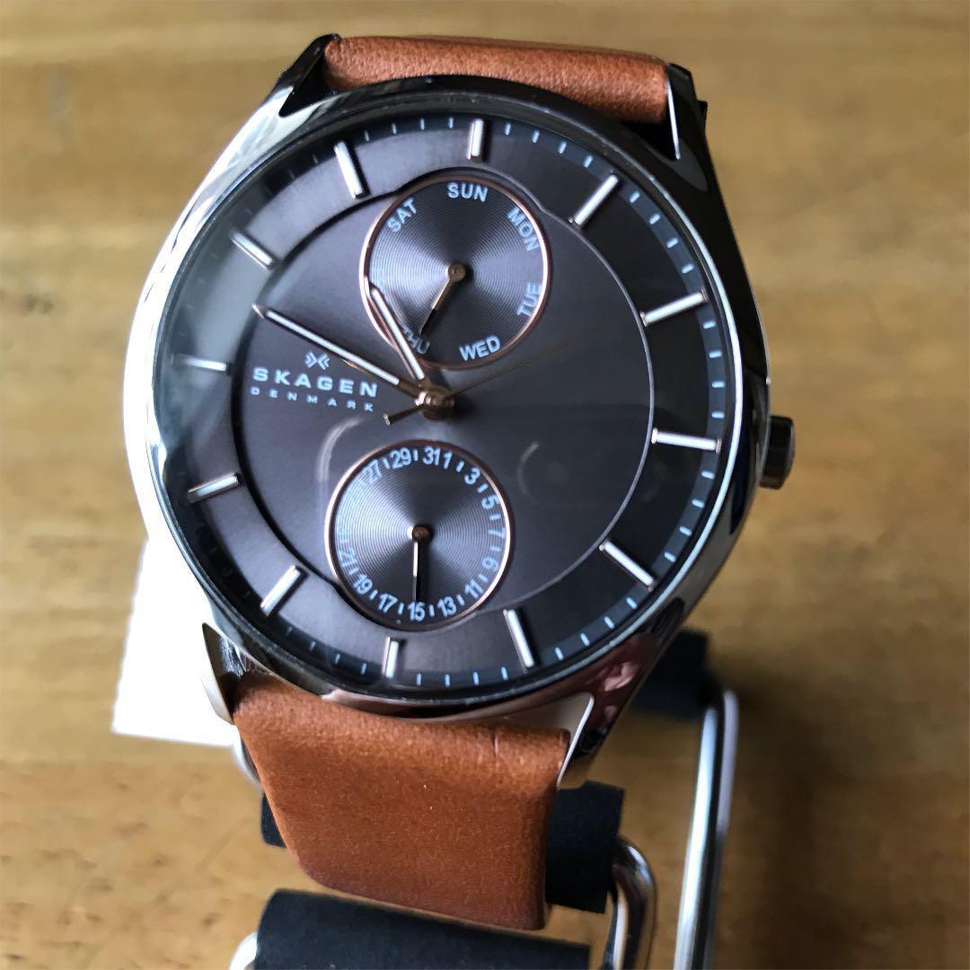 【新品】スカーゲン SKAGEN クオーツ メンズ 腕時計 SKW6086 グレー_画像3