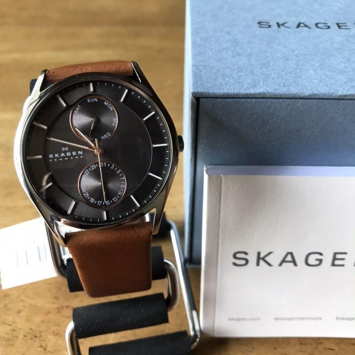 【新品】スカーゲン SKAGEN クオーツ メンズ 腕時計 SKW6086 グレー_画像4