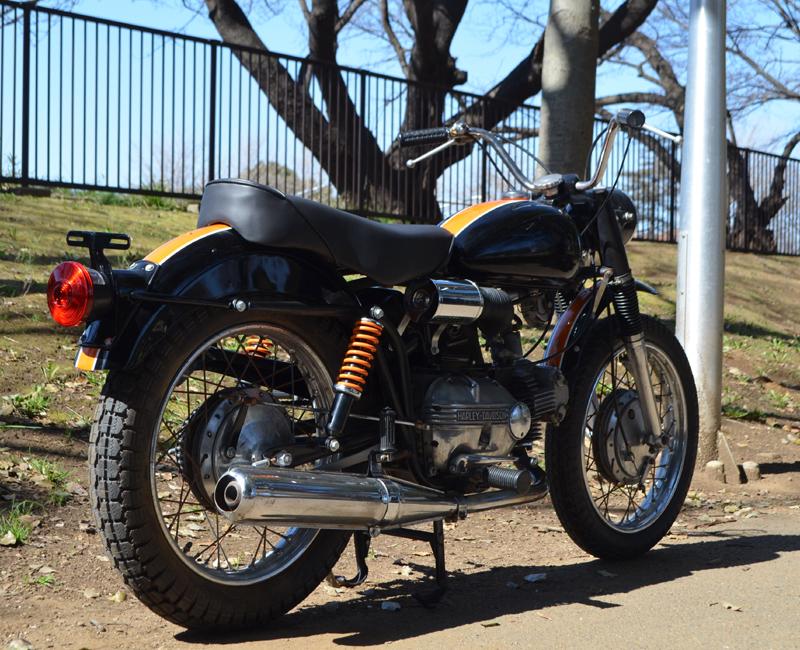 輸入新規 1967 ハーレー アエルマッキ スプリント 250cc HARLEY DAVIDSON AERMACCHI SPRINT _画像5