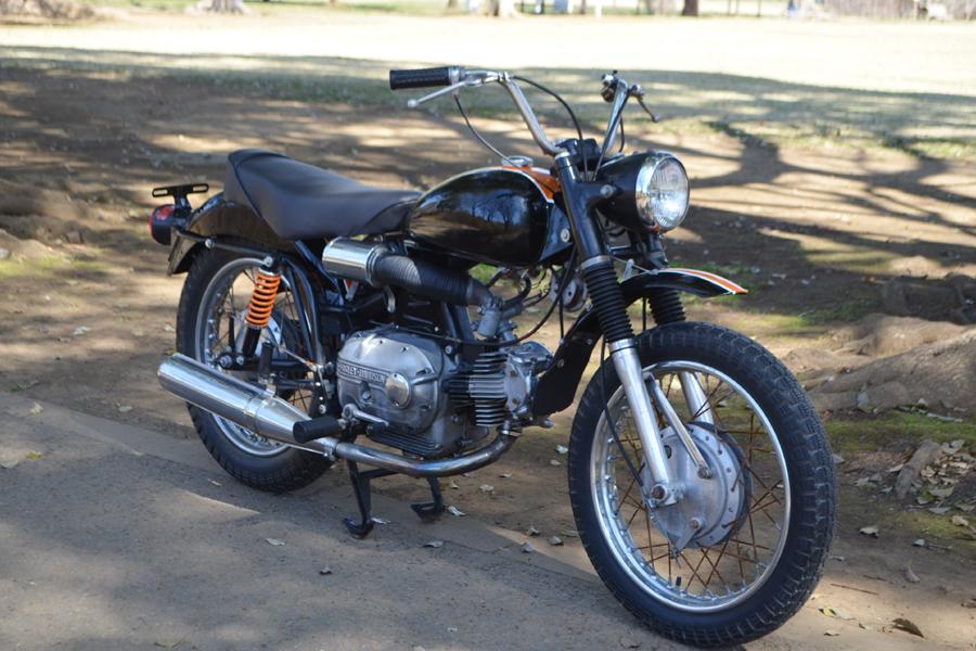 輸入新規 1967 ハーレー アエルマッキ スプリント 250cc HARLEY DAVIDSON AERMACCHI SPRINT