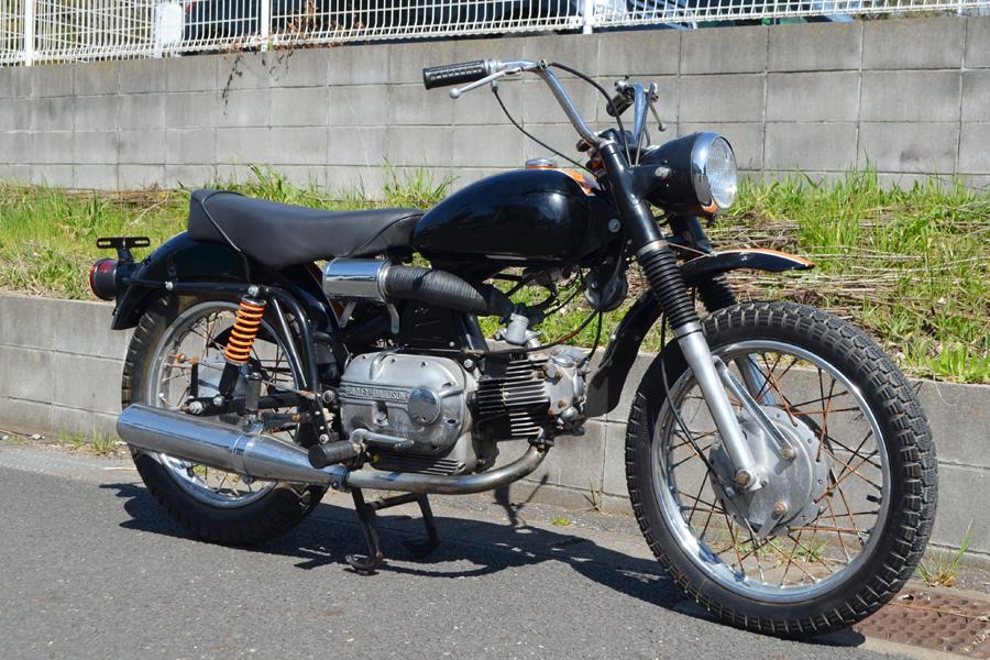 輸入新規 1967 ハーレー アエルマッキ スプリント 250cc HARLEY DAVIDSON AERMACCHI SPRINT _画像4