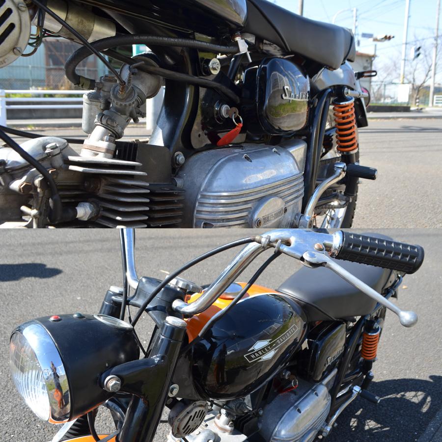 輸入新規 1967 ハーレー アエルマッキ スプリント 250cc HARLEY DAVIDSON AERMACCHI SPRINT _画像10