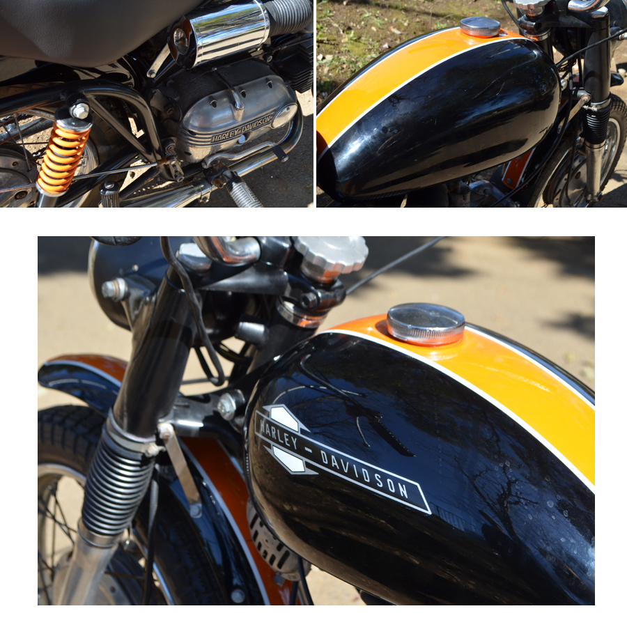 輸入新規 1967 ハーレー アエルマッキ スプリント 250cc HARLEY DAVIDSON AERMACCHI SPRINT _画像8