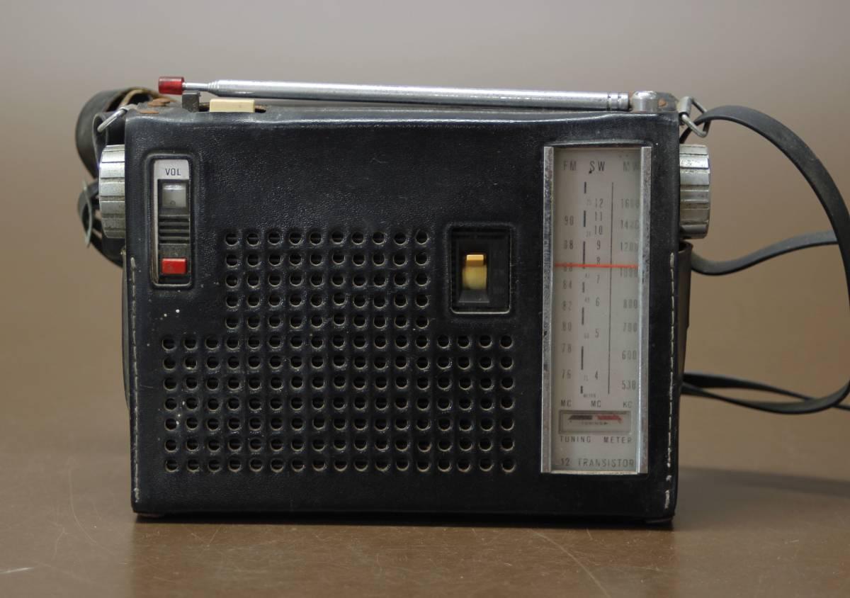 昭和レトロ SONY ソニー 3バンド トランジスタラジオ TFM-110F ジャンク_画像2