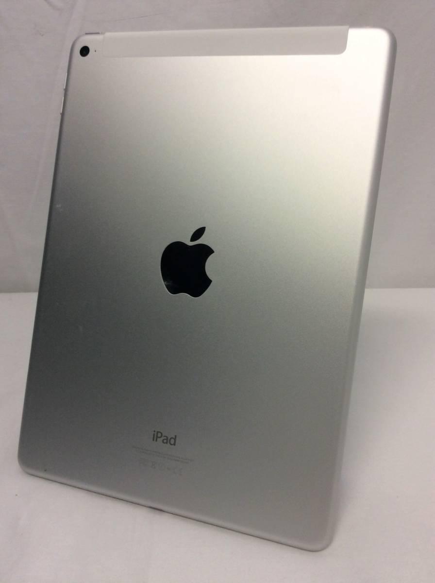★美品★docomo★ APPLE iPad Air 2 Wi-Fi + Cellular 16GB シルバー A1567 MGH72J/A (A-4-19-11)_画像2