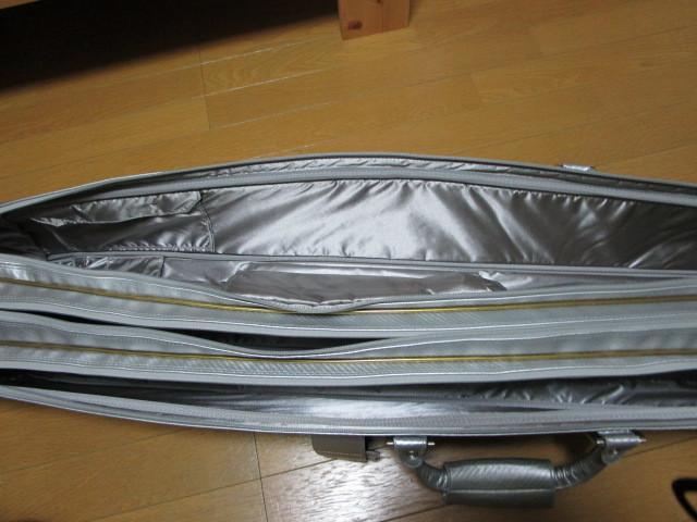 ☆ダイワ ヘラバック 50L&ロッドケース シルバー☆超美品_画像9