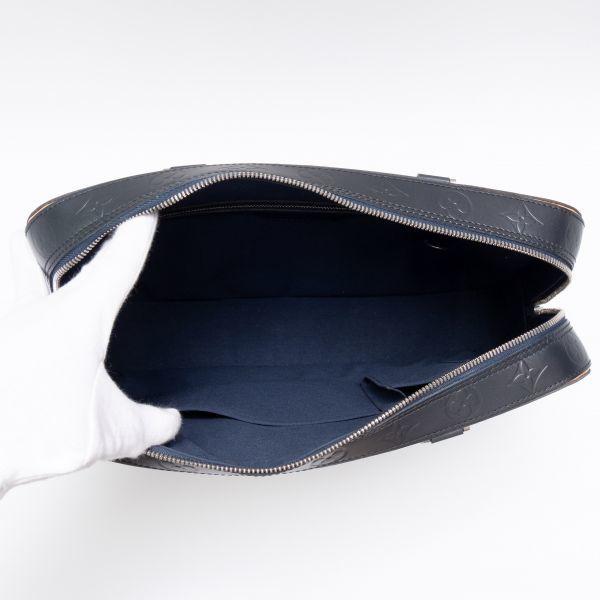 【新品同様】ルイヴィトン Louis Vuitton モノグラムマット マルデン ビジネスバッグ ブリーフケース メンズ レザー 定価約17万_画像9