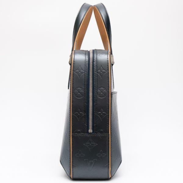 【新品同様】ルイヴィトン Louis Vuitton モノグラムマット マルデン ビジネスバッグ ブリーフケース メンズ レザー 定価約17万_画像5