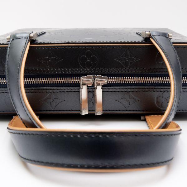 【新品同様】ルイヴィトン Louis Vuitton モノグラムマット マルデン ビジネスバッグ ブリーフケース メンズ レザー 定価約17万_画像8