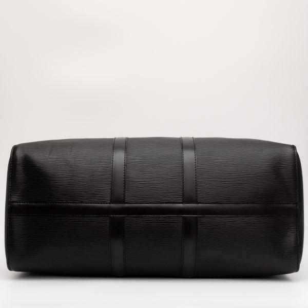 【極美品】ルイヴィトン Louis Vuitton エピ キーポル45 ボストンバッグ ノワール 旅行バッグ かばん 鞄 レザー 定価約24万_画像7