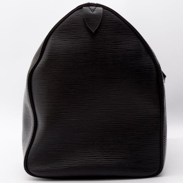 【極美品】ルイヴィトン Louis Vuitton エピ キーポル45 ボストンバッグ ノワール 旅行バッグ かばん 鞄 レザー 定価約24万_画像6