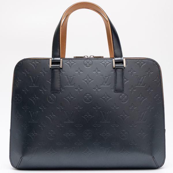 【新品同様】ルイヴィトン Louis Vuitton モノグラムマット マルデン ビジネスバッグ ブリーフケース メンズ レザー 定価約17万_画像4