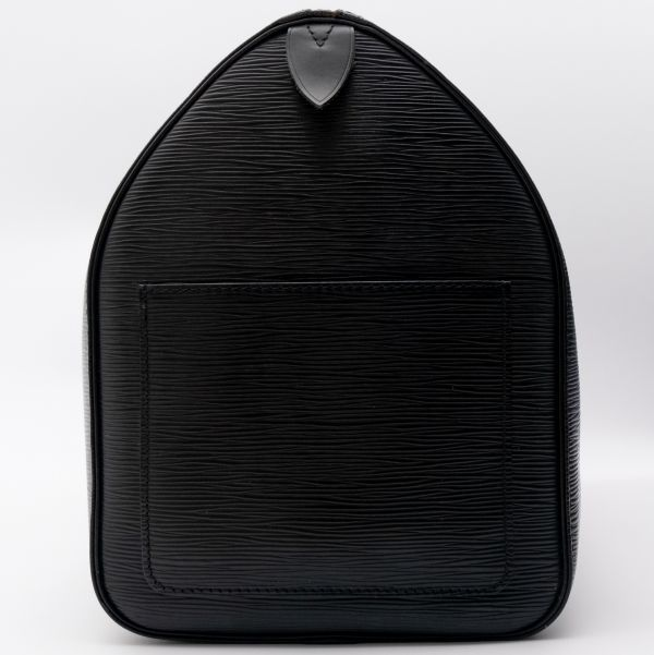 【極美品】ルイヴィトン Louis Vuitton エピ キーポル45 ボストンバッグ ノワール 旅行バッグ かばん 鞄 レザー 定価約24万_画像5