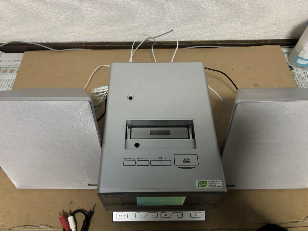 Panasonic HDDコンポ SD ステレオシステム SA-SX450 再生OK_画像4