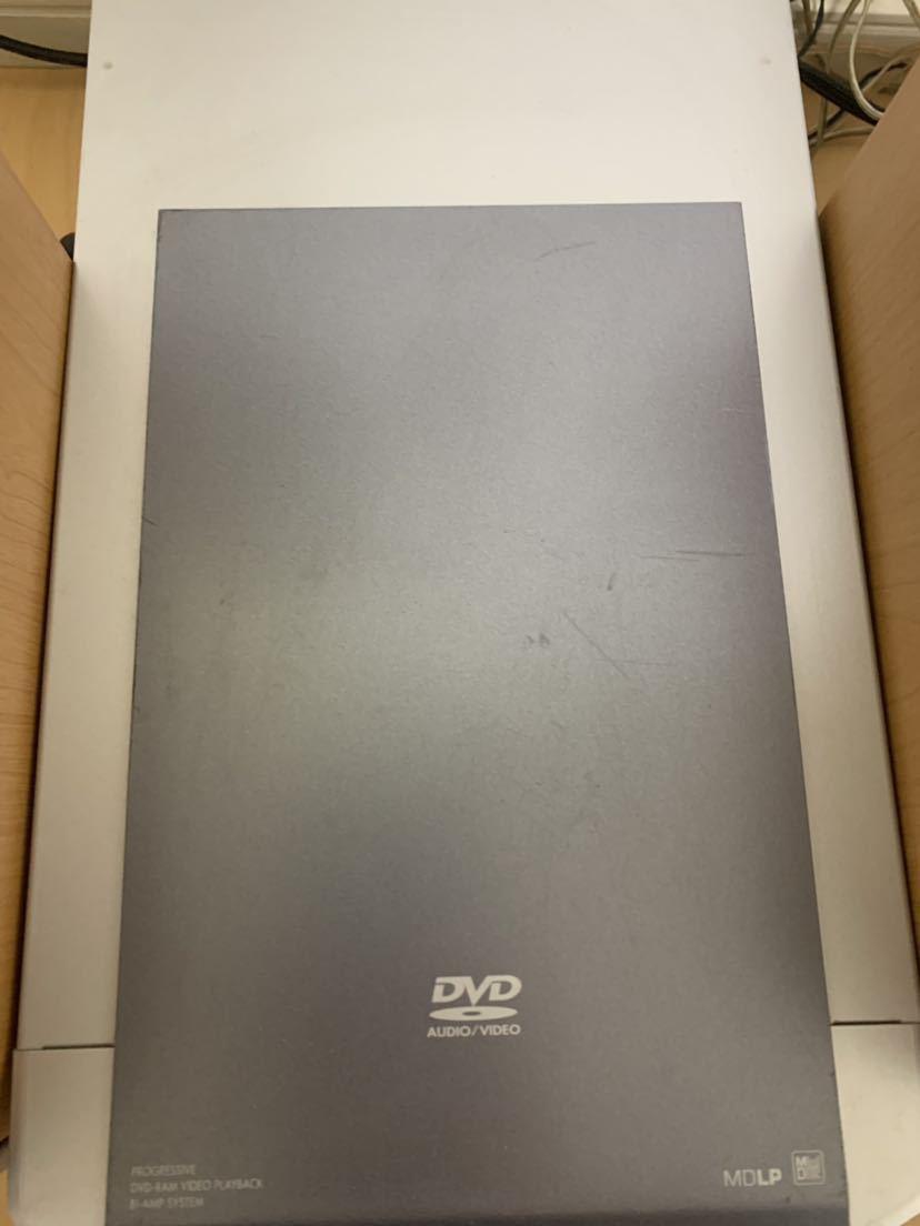 【Panasonic DVD/CD/MDコンポ SA-PM2DVD】パナソニック コンポ 動作確認済み 中古品_画像3